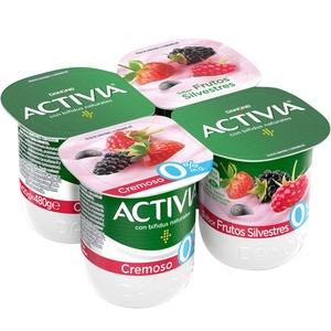 ACTIVIA Iogurt cremós fruites silvestres 0%