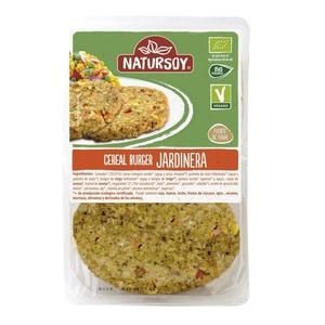 NATURSOY Hamburguesa vegetal de cereals eco