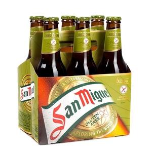 SAN MIGUEL Pack cervesa especial s/gluten 6x33 cl