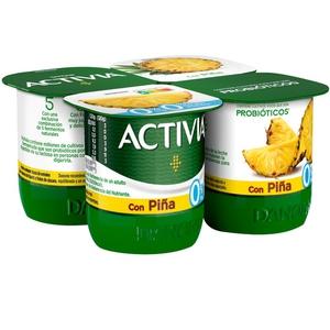 ACTIVIA Iogurt amb pinya 0%