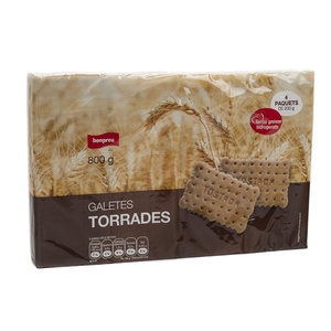 BONPREU Galetes torrades