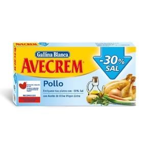 AVECREM Brou de pollastre pastilles baix en sal