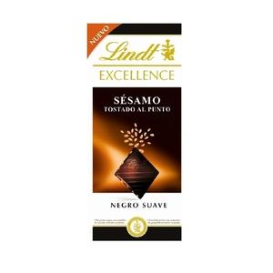 LINDT EXCELLENCE Xocolata negra suau amb sèsam