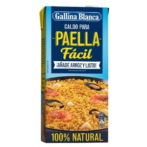 GALLINA BLANCA Brou per paella fàcil