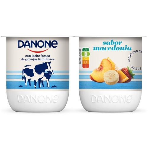 DANONE Iogurt de macedònia