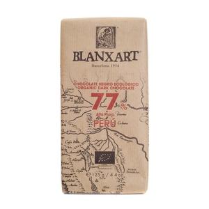 BLANXART Xocolata ecològica del Perú 77%
