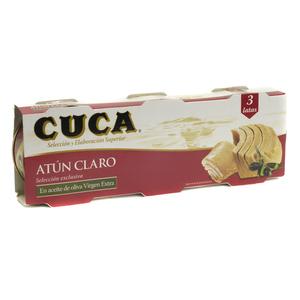 CUCA Tonyina clara oli oliva v ext. 3 llaunes