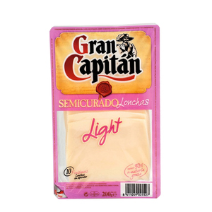 GRAN CAPITAN Formatge semicurat light