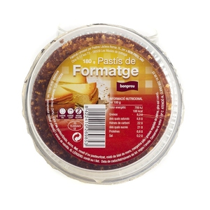 BONPREU Pastís de formatge