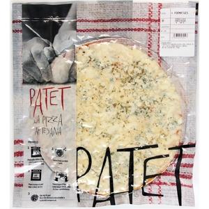 PATET Pizza 4 formatges