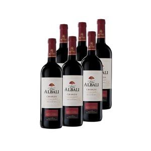 ALBALI Caixa de vi negre Valdepeñas criança