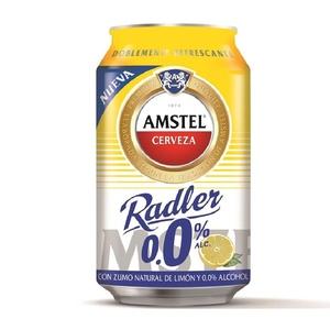 AMSTEL Cervesa amb suc de llimona sense alcohol
