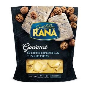 RANA Raviolis farcits de gorgonzola i nous