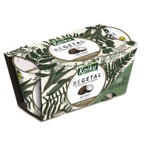 KAIKU BEGETAL Postres de coco natural
