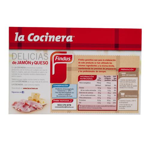 LA COCINERA Delicies de formatge i pernil