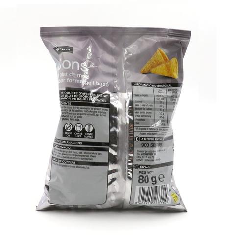 BONPREU Cons de blat de moro, sabor form. i bacó