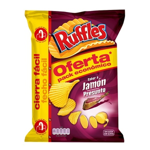 RUFFLES Patates fregides gust pernil