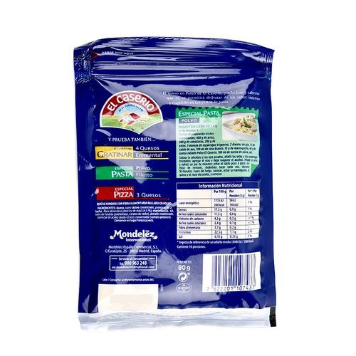 EL CASERIO Formatge en pols especial pasta
