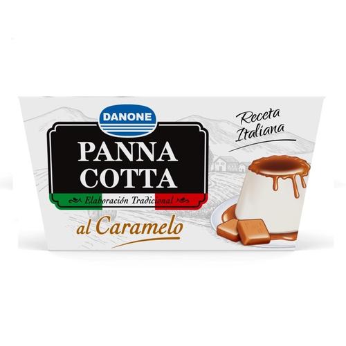DANONE Pannacotta al caramel