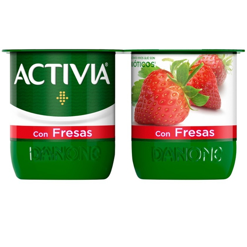 ACTIVIA Iogurt amb maduixes