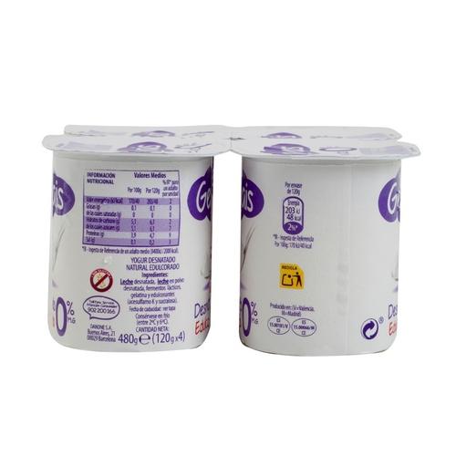 GERVAIS Iogurt desnatat ensucrat