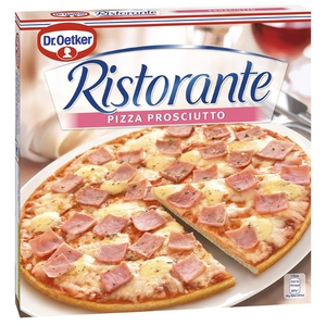 RISTORANTE Pizza de pernil dolç i formatge