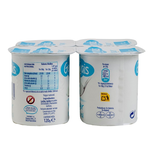 GERVAIS Iogurt natural