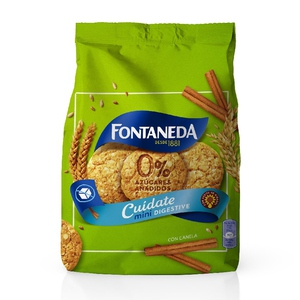 FONTANEDA Galetes mini 0% sucres afegits