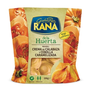 RANA Raviolis farcits de crema carbassa-ceba