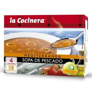 LA COCINERA Sopa de peix