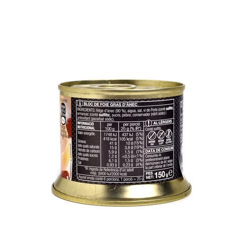 BONPREU Foie gras d'ànec