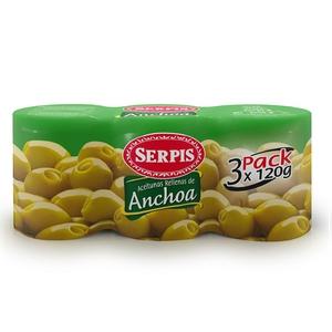 SERPIS Olives farcides d'anxova