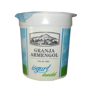 GRANJA ARMENGOL Iogurt desnatat natural Km0