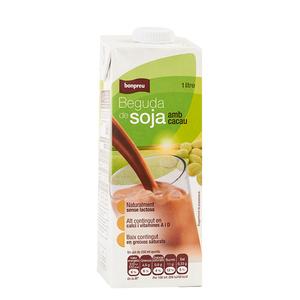 BONPREU Beguda de soja amb cacau UHT