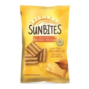 SUNBITES Snack de formatge i ceba caramel·litzada