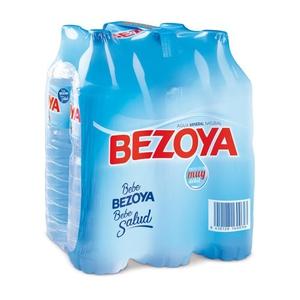 BEZOYA Aigua mineral natural 6x1,5L