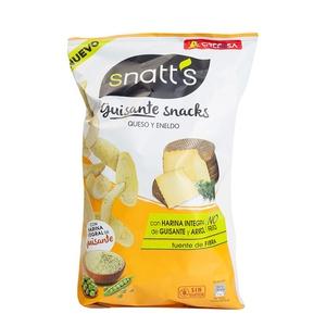 SNATT'S Snacks de pèsols amb formatge i anet