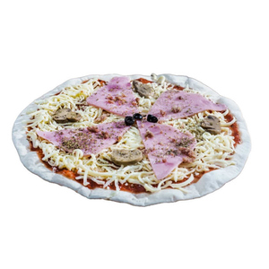 LA LOCANDA Pizza de pernil dolç i xampinyons