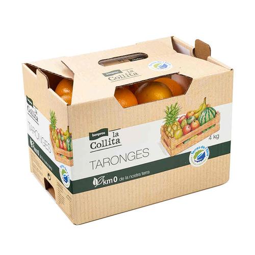 LA COLLITA Taronges Km0 caixa de 4 kg