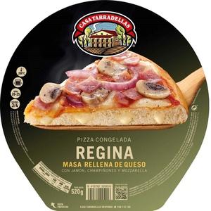 CASA TARRADELLAS Pizza Regina farcida de formatge