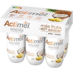 ACTIMEL Iogurt per beure de pinya i coco