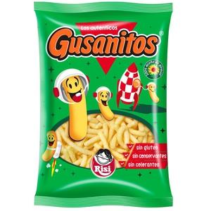 GUSANITOS Snack de blat de moro