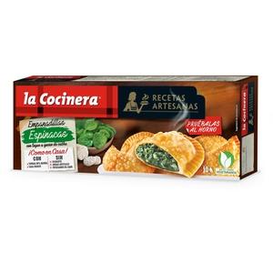 LA COCINERA Crestes d'espinacs amb formatge de cabra
