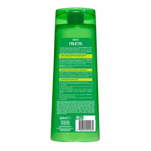 FRUCTIS Xampú purificant de cogombre