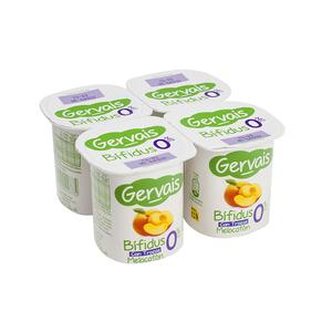 GERVAIS Iogurt bífidus de préssec 0%
