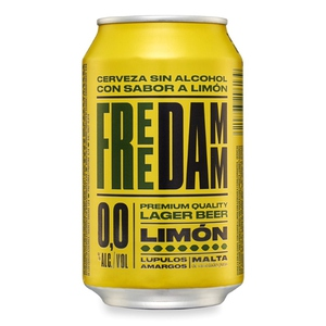 FREE DAMM Cervesa sense alcohol amb llimona