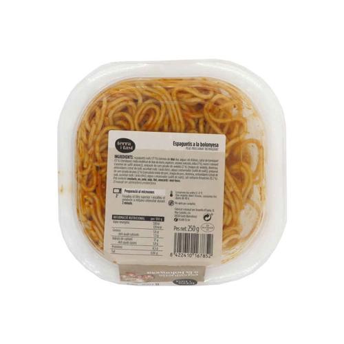 TERRA I TAST Espaguetis bolonyesa