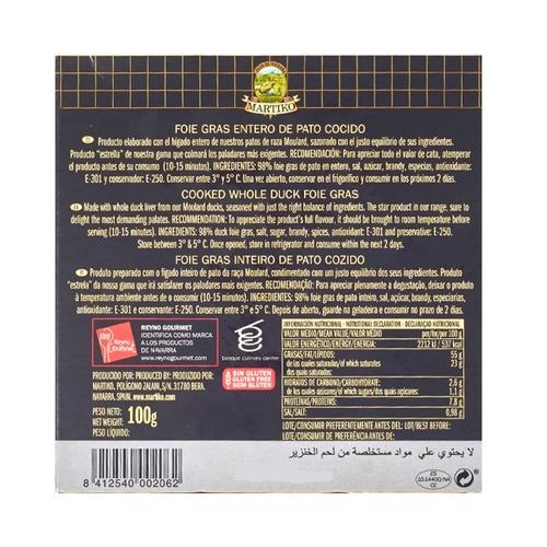 MARTIKO Foie gras sencer d'ànec