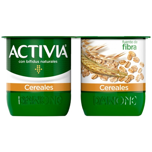 ACTIVIA Iogurt de fibra amb cereals