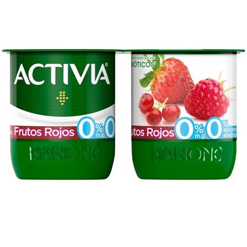 ACTIVIA Iogurt amb fruites vermelles